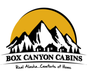 Box Canyon Cabins logo.