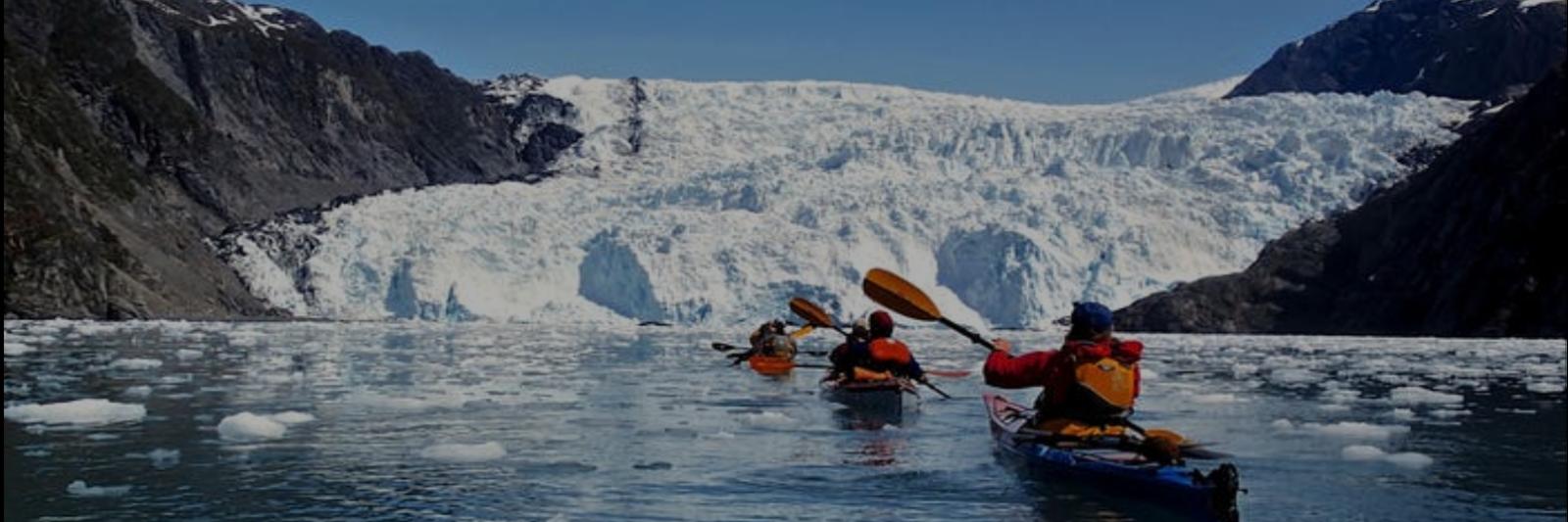 Kayaking tours in Seward, AK.