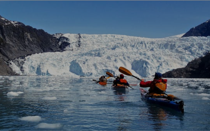 Kayaking tours in Seward, AK.