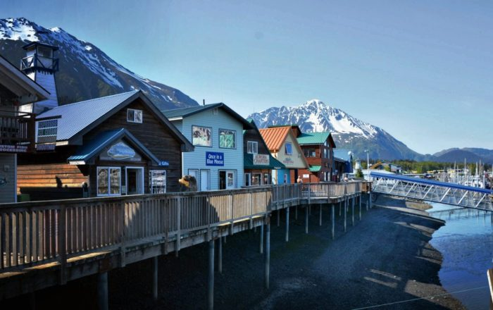 Town of Seward, Alaska.