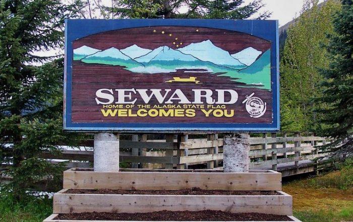 Welcome to Seward, AK.